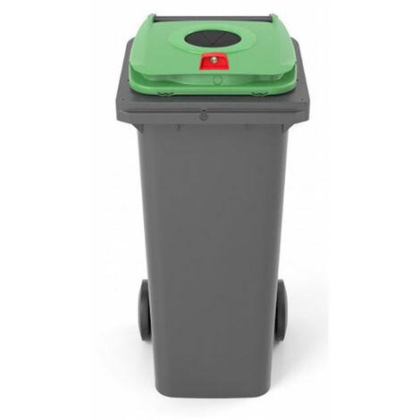 Conteneur de 140 litres pour le tri sélectif (plusieurs tailles disponibles)