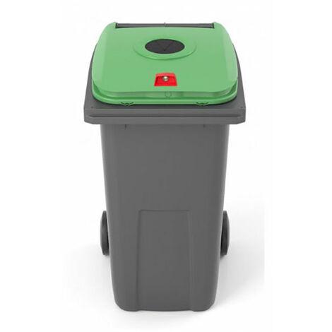 Conteneur de 240 litres pour le tri sélectif (plusieurs tailles disponibles)