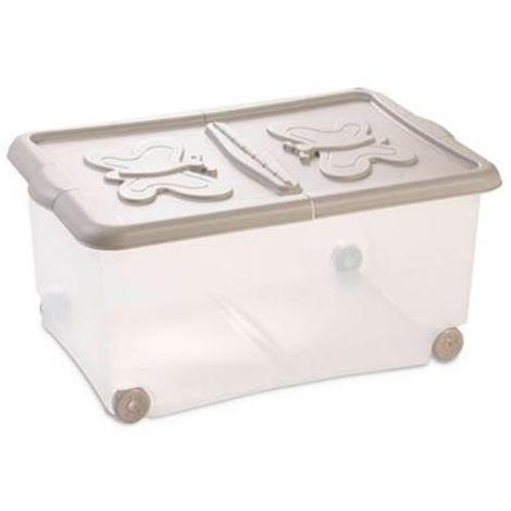 Contenitore Eco Box sovrapponibile 14,6x23,7xH12,4 cm    Art 103