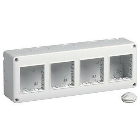 Contenitore Vimar Plana Eikon Arke da parete IP40 8 moduli 2+2+2+2 14814