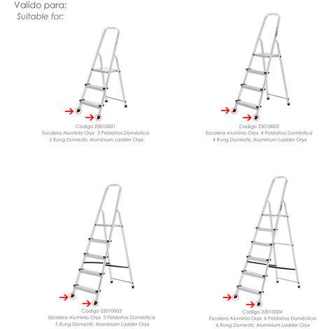 Contera Escaleras Aluminio Oryx Delantera de 3 a 6 Peldaños - NEOFERR..