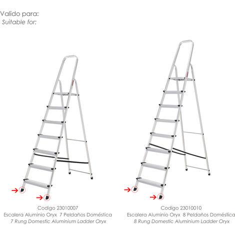 Contera Escaleras Aluminio Oryx Delantera de 7 y 8 Peldaños - NEOFERR..