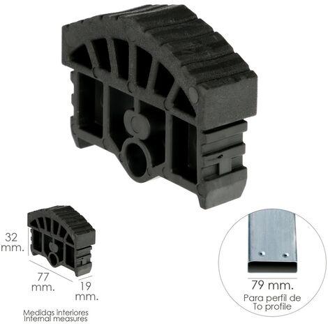 Contera Para Escalera Pronor 3 Tramos y Escalera 2 Tramos Con 12+12 Peldaños ( Perfil 79 mm.)