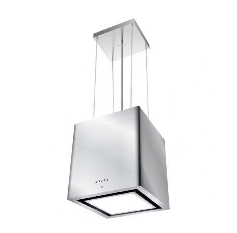 CONTINENTAL-EDISON HI550REC - Hotte ilot - Recyclage - 550m3-h - 59dB - 3 vitesses - L40,5cm - Inox
