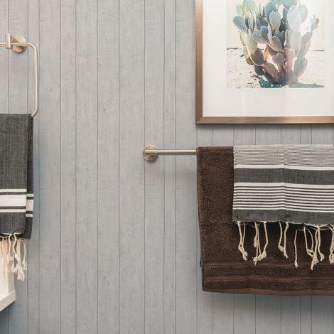Contour Plank Wooden Textured Heavy Weight Vinyl Wallpaper