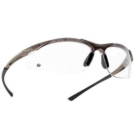 Contour Scratch Resistant/Anti-Fog Safety Spectacles