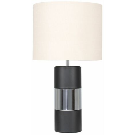 Contrasting Panel Table Lamp