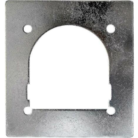 Contre-plaque pour anneau darrimage (L x l) 120 mm x 115 mm HP Autozubehör 25275 1 pc(s)