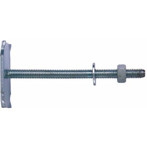 Contre plaque pour fixation radiateur 6x80