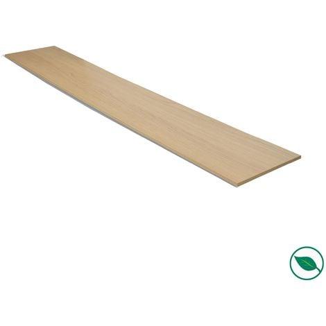 Contremarche stratifié chêne clair 1300 x 200 x 8 mm