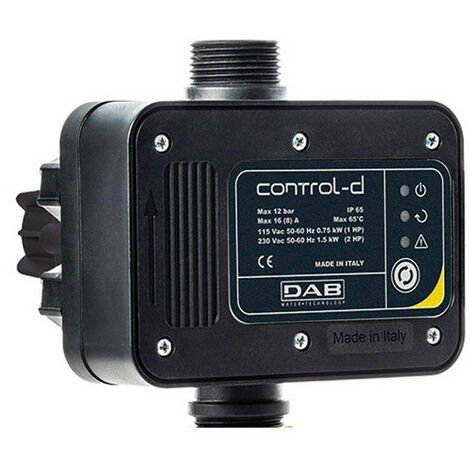 CONTROL DAB-D y 1.5 kW para bombas eléctricas 60180505