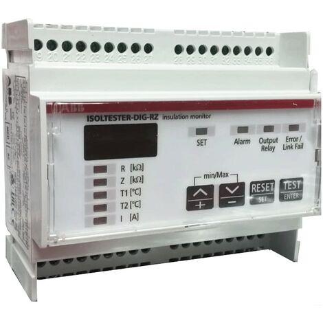 Control de aislamiento de Abb isoltester EB 250 8