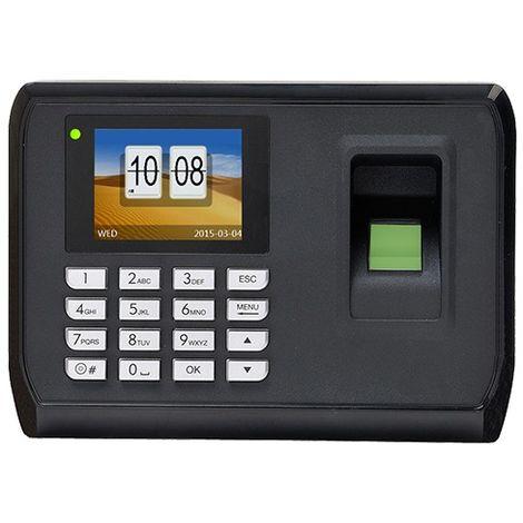Control de Presencia Huellas dactilares tarjeta y teclado con software incluido