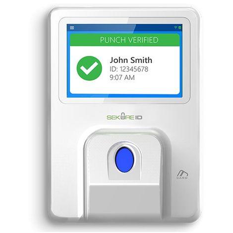 Control de Presencia Huellas, EM RFID y teclado 1.000 usuarios / 1.000.000 registros
