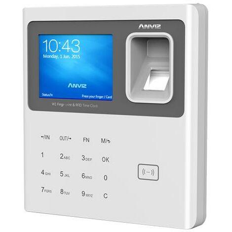 Control De Presencia para turnos y horarios, con lector de Huella Rfid y Teclado USB / RJ45 Anviz W1-ID