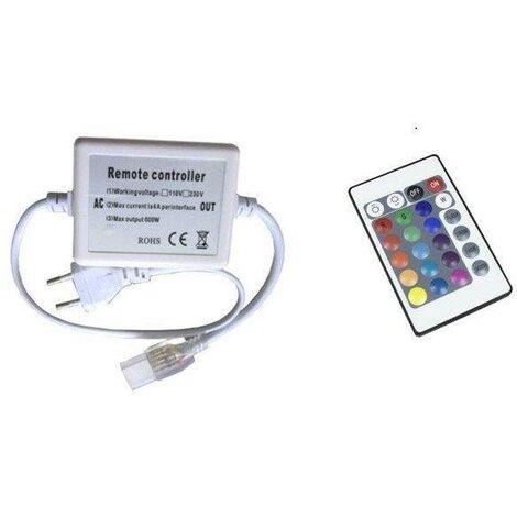 Control Remoto Con Mando Para Tira LED 50mts RGB