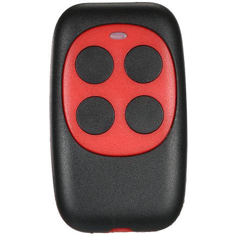Control remoto de codigo de 433MHz, Duplicador de llave de copia Llavero universal, Rojo