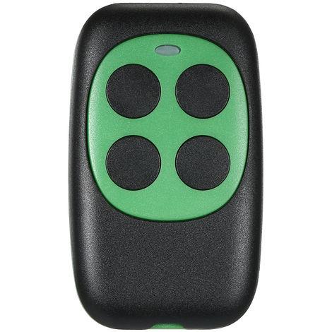 Control remoto de codigo de 433MHz, Duplicador de llave de copia Llavero universal, Verde