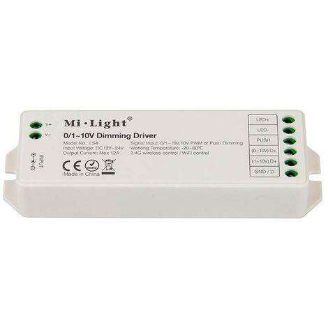 Controlador 0/1-10V, 12A, RF-WiFi