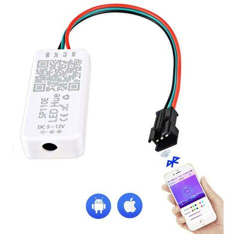 Controlador Bluetooth DC5-12V Aplicación iOS/ANDROID 1024 Píxeles