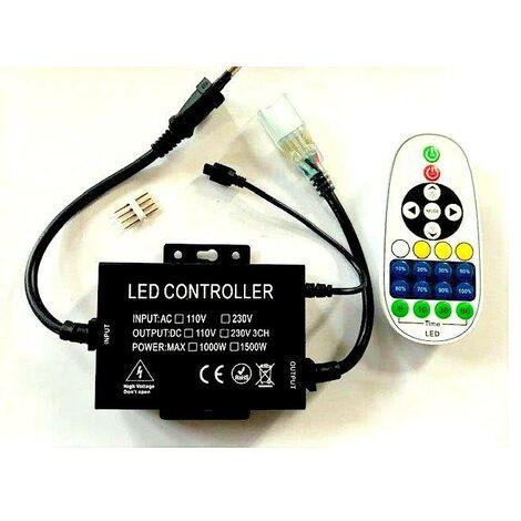Controlador de cinta Led 220V para graduación de blancos