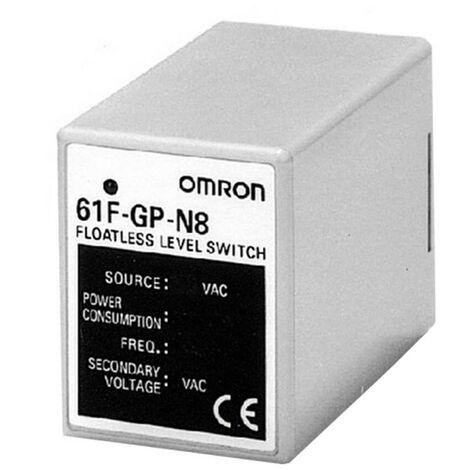 Controlador de nivel de Omron conductora 230VAC 61FGPN8230AC-159