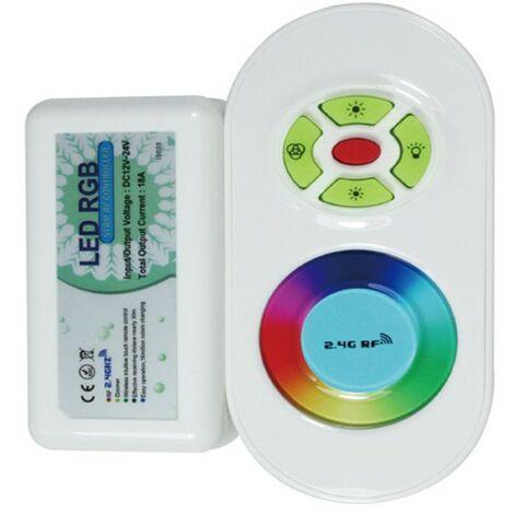 Controlador de radiofrecuencia/mando a distancia para la cinta de LED de color de 12V RGB