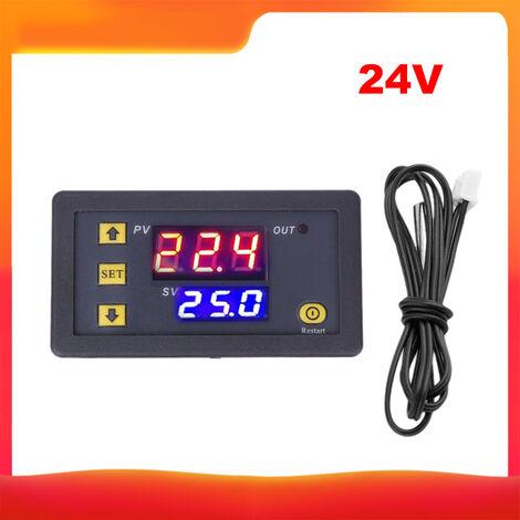 Controlador de temperatura 3230, modulo de termostato de pantalla digital