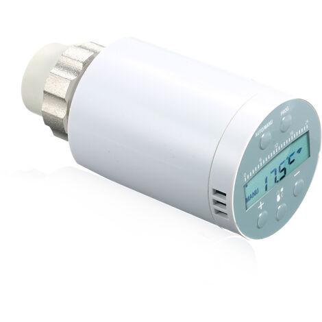 Controlador de temperatura del termostato SEA801-APP£¬Calefaccion y valvula termostatica del radiador TRV