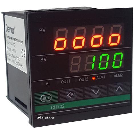 Controlador de temperatura digital CH702 72X72