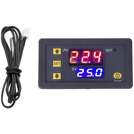 Controlador de temperatura, interruptor de control de temperatura del modulo termostato digital
