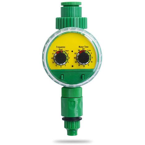 Controlador de temporizador de agua de riego, riego programable electronico de jardin