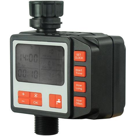 Controlador de temporizador de riego de riego, Jardin temporizador programable de riego automatico