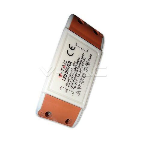 Controlador del transformador de 8 vatios Controlador del panel LED No regulable EEK Transformador A ++ V -Tac 8036