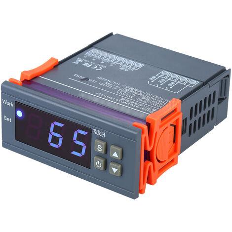 Controlador digital de humedad, controlador de humedad regulador de humedad higrostato