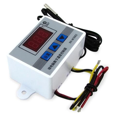 Controlador digital de temperatura de microordenador, interruptor de termostato