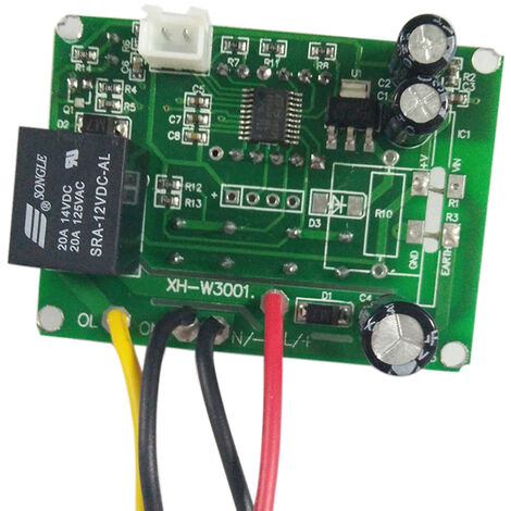 Controlador digital de temperatura de precalentamiento / frio de LED, 12V