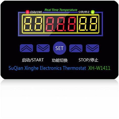 Controlador digital de temperatura, interruptor de control de temperatura, con sonda NTC