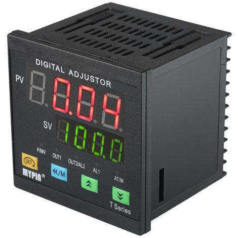 Controlador digital de temperatura PID, RNR 1 Salida de rele de alarma TC / RTD