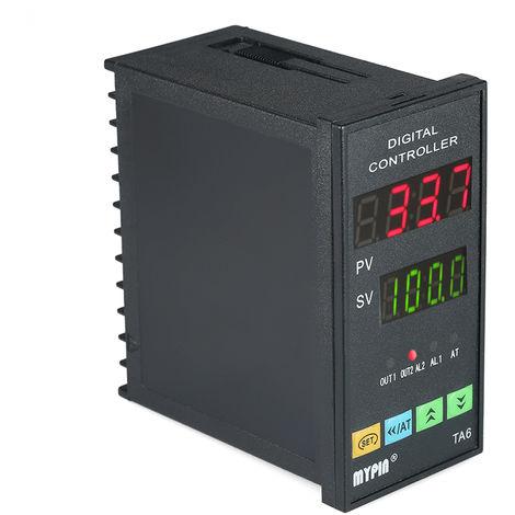 Controlador digital de temperatura PID Termometro RNR 1 Salida de rele de alarma TC / RTD