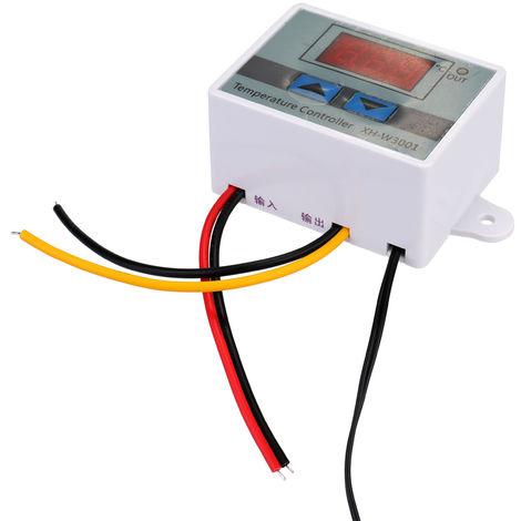 Controlador digital de temperatura, regulador termico de microordenador, 12V