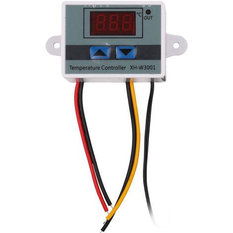 Controlador digital de temperatura, regulador termico de microordenador
