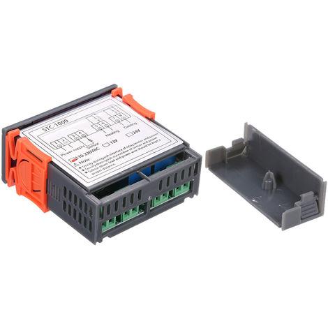 Controlador digital de temperatura, termostato de refrigeracion y calefaccion,220V