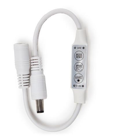 Controlador-Dimmer Mini Tira LED Unicolor 12-24VDC ► 144W (KD-CONMINIDC)