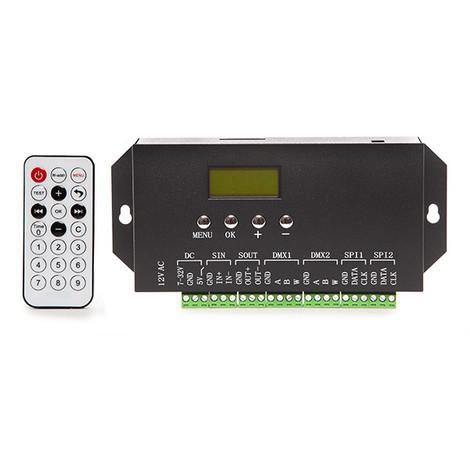 Controlador DMX512 24VDC ► 360 Unidades Ladrillo LED (SL-DMX512-24)