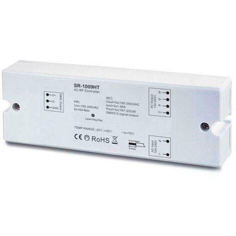 Controlador LB1009HT, AC220V MONO/RGB RF + WiFi, PWM + DMX