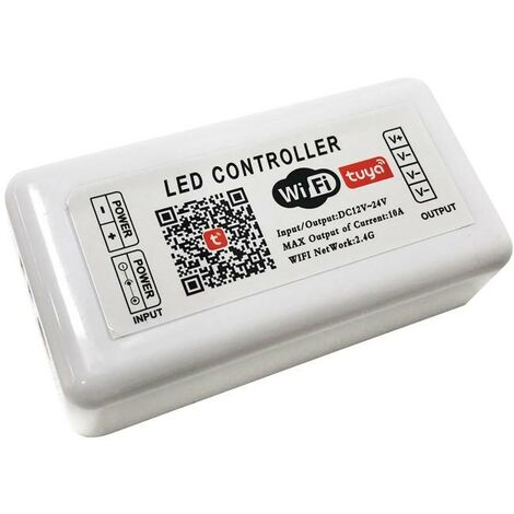 Controlador LED SMART+ WIFI Monocolor 12/24V 1 Canal 10A