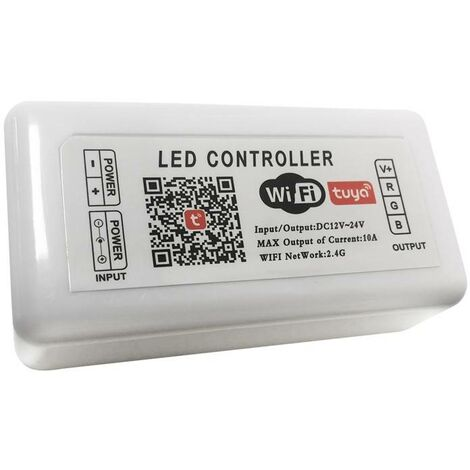 Controlador LED SMART+ WIFI RGB 12/24V 3 canales