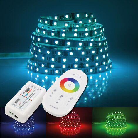 Controlador LED WIFI RGBW 12/24V 4 canales