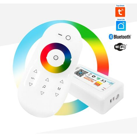 Controlador LED WIFI RGBW / RGBW 5/24V 4 canales 10A